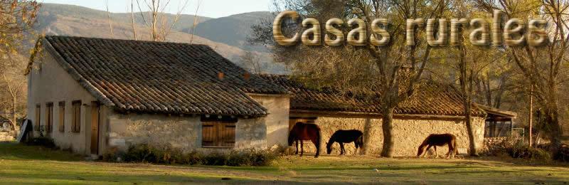Casas rurales valle el paular alquiler rascafr a - Casa rural con perro madrid ...
